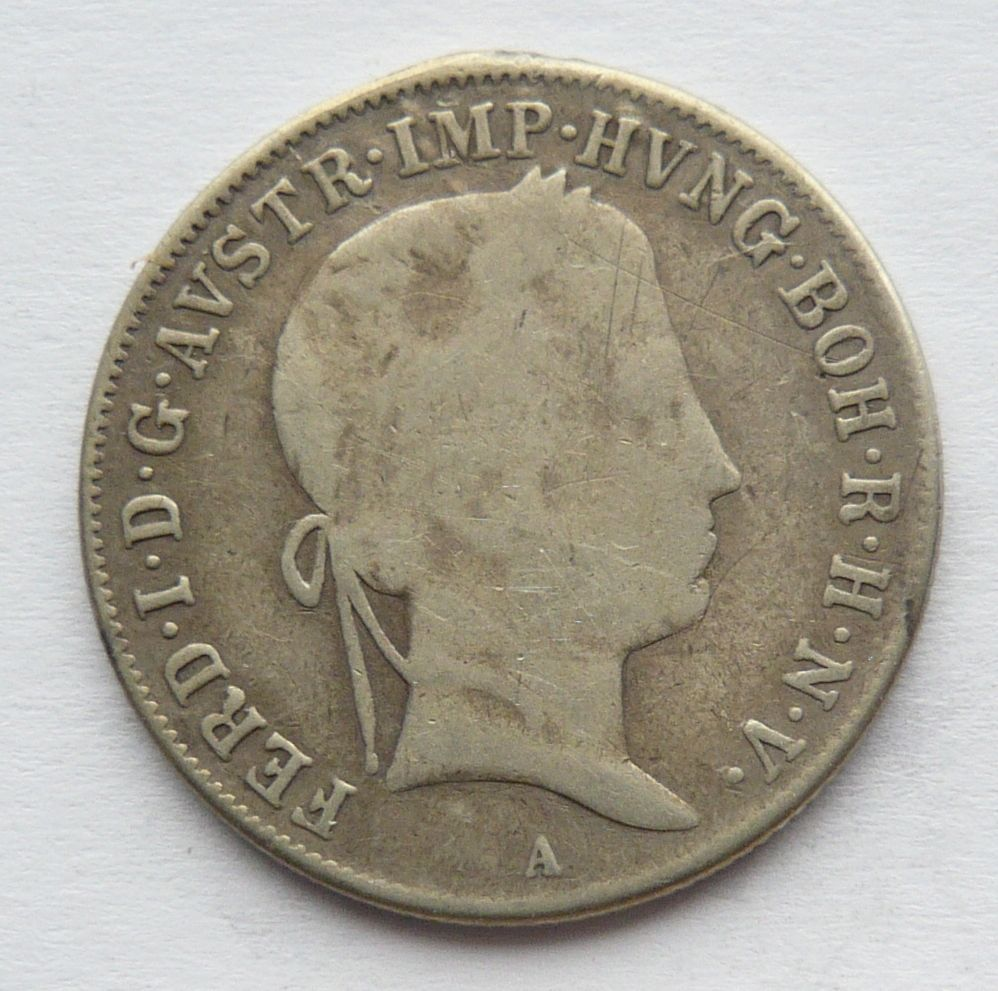 Rakousko 20 Krejcar 1847 A - Ferdinand V.