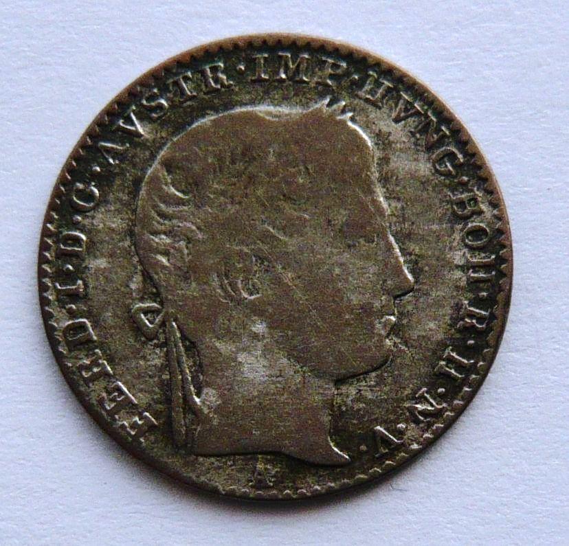 Rakousko 3 Krejcar 1837 A Ferdinand V.