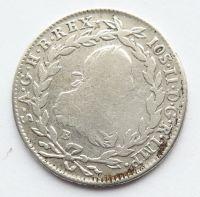 Uhry 20 Krejcar 1782 B - Josef II.