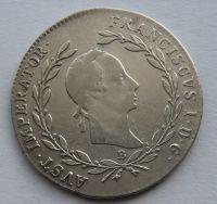 Uhry 20 Krejcar 1830 B František II.