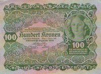 100Korun/1922/, stav 0