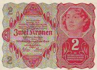 2Koruna/1922/, stav UNC