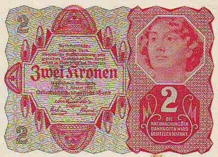2Koruna/1922/, stav 0