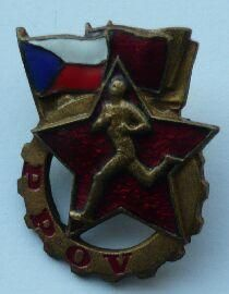 Armádní odznak zdatnosti - 50-léta