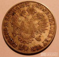 Rakousko 20 Krejcar 1831 A František II.