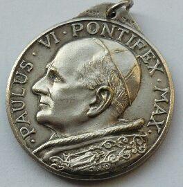 Vatikán Pavel VI. pontif.medaile