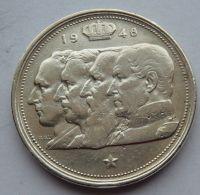 Belgie 100 Frank 1948 - čtyři králové