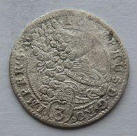 Čechy - Praha 3 Krejcar 1706 GE Josef I.