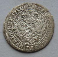 Čechy - Praha 3 Krejcar 1712 Karel VI.
