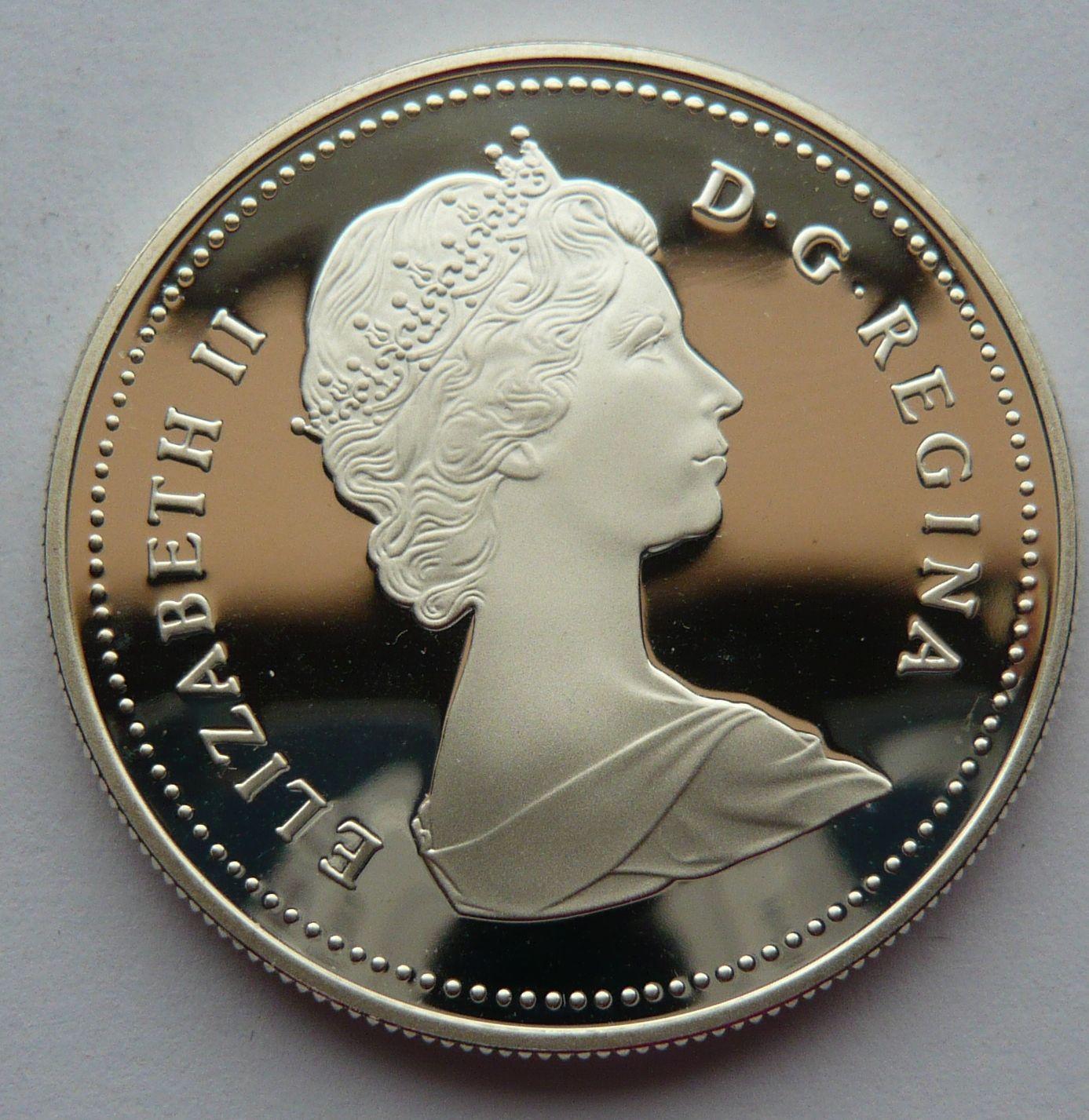 Kanada 1 Dollar 1886-1986