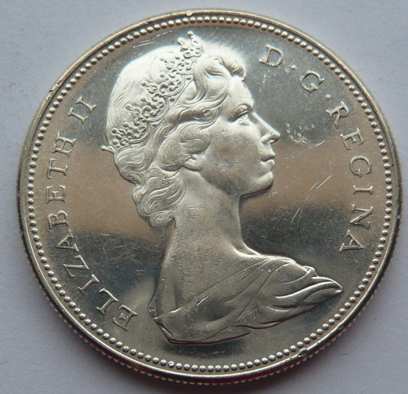 kanada 1 Dollar 1967