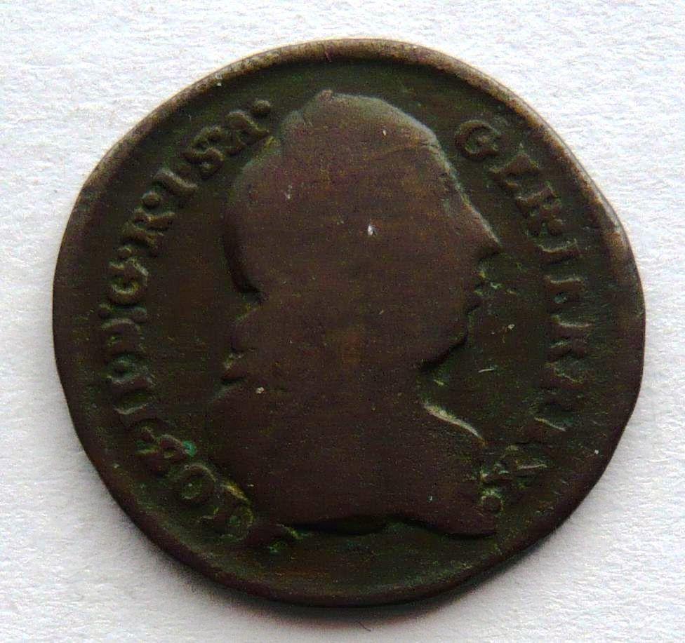Rakousko 1/2 Krejcar 1776 S Josef II.
