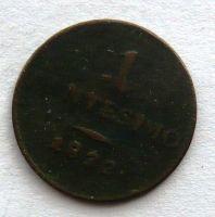 Rakousko 1 Centesimo 1822 V František II.