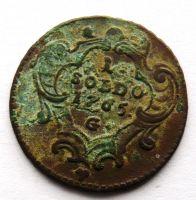 Rakousko 1 Soldo 1765 G Marie Terezie