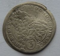 Rakousko 3 Krejcar 1711 Josef I.