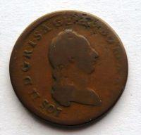 Uhry 1/2 Krejcar 1781 B Josef II.