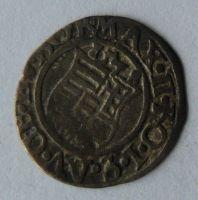 Uhry Denár 1577 KB Maxmilián II.