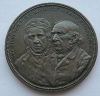 Anglie manželé Gladstonovi zlatá svatba 1839-89