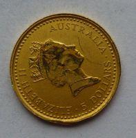 Austrálie Au 1/20 unce 1991