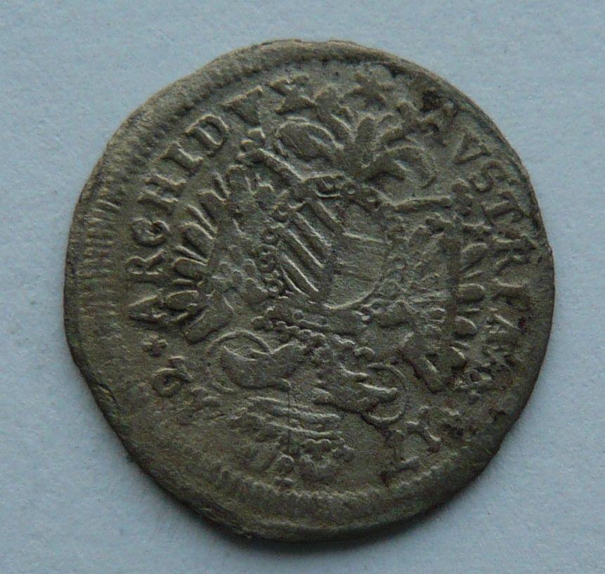 Bavorsko 3 Krejcar 1711 Josef I.