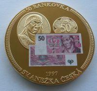 ČR 50 Kč 1997 Anežka