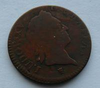 Francie 1 Sol 1774 Ludvík XV.