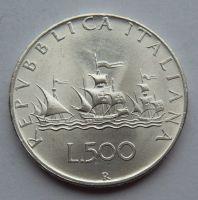Itálie 500 Lir 1961