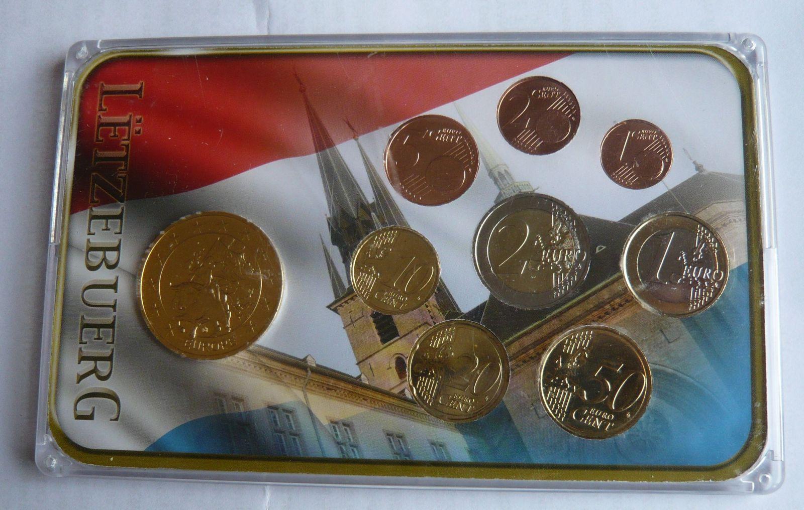 Lucembursko sada mincí 2012