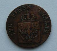 Prusko 2 Pf 1843 A