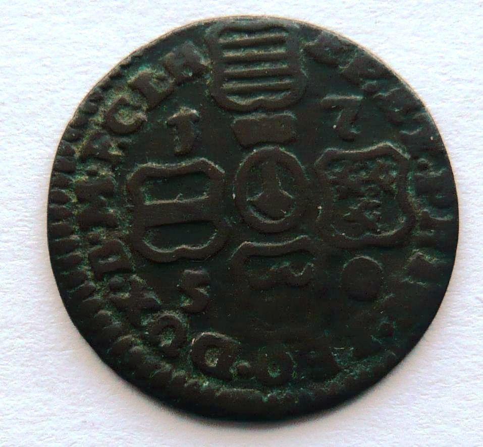 Švýcarsko Lüttych Liard 1750