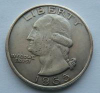 USA 1 Dollar 1865 KOPIE