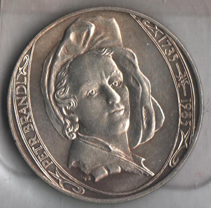 100 Kčs(1985-Petr Brandl), stav 1+/0