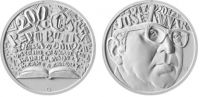200 Kč(2017-Josef Kainar), stav PROOF, certifikát, etue