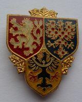 ČR Hradní stráž smaltovaný odznak