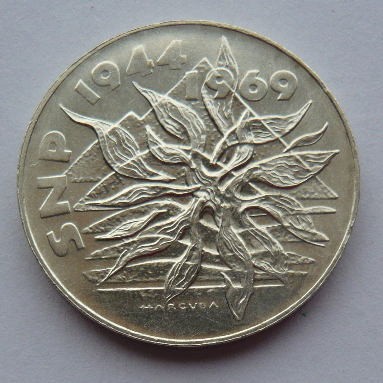 ČSSR 25 Kč SNP 1969