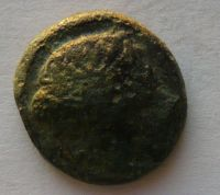 Řecko Makedonie AE 18 hlava ? Philip II. 359-36