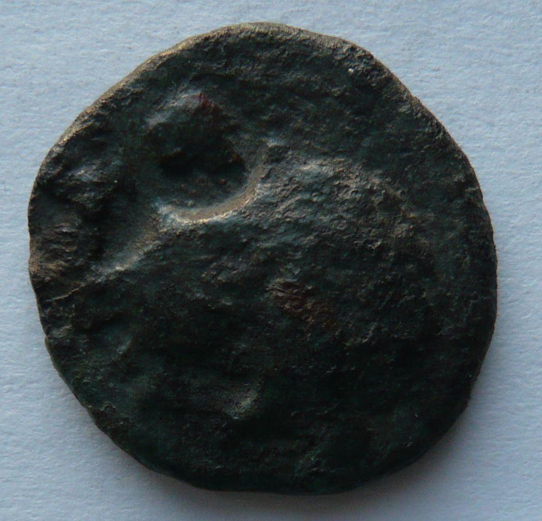 Řecko Thrákie AE 24 po roce 148 hlava Apolla Maroneia