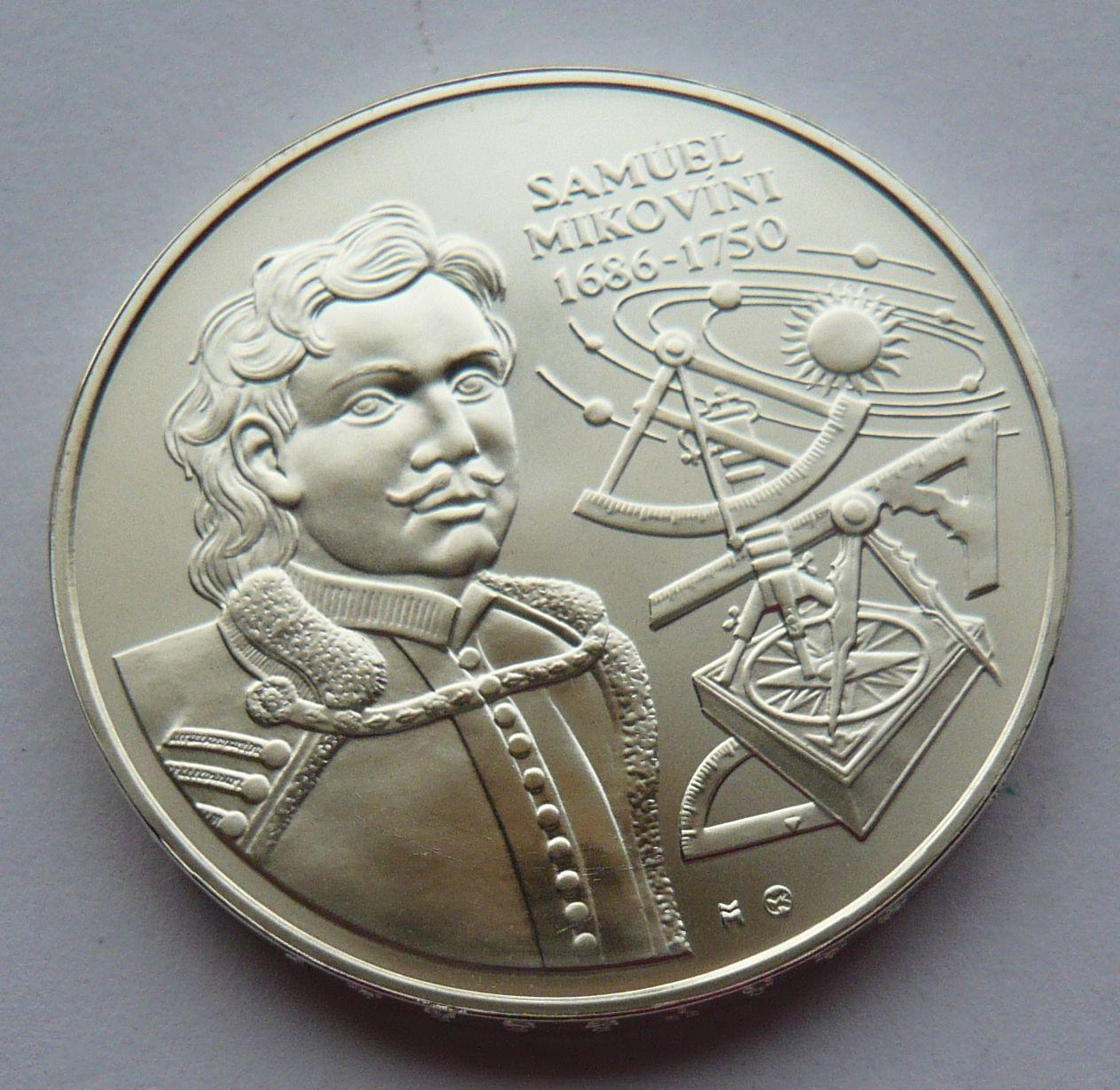 Slovensko 500 Ks Samuel Mikovíni 2000