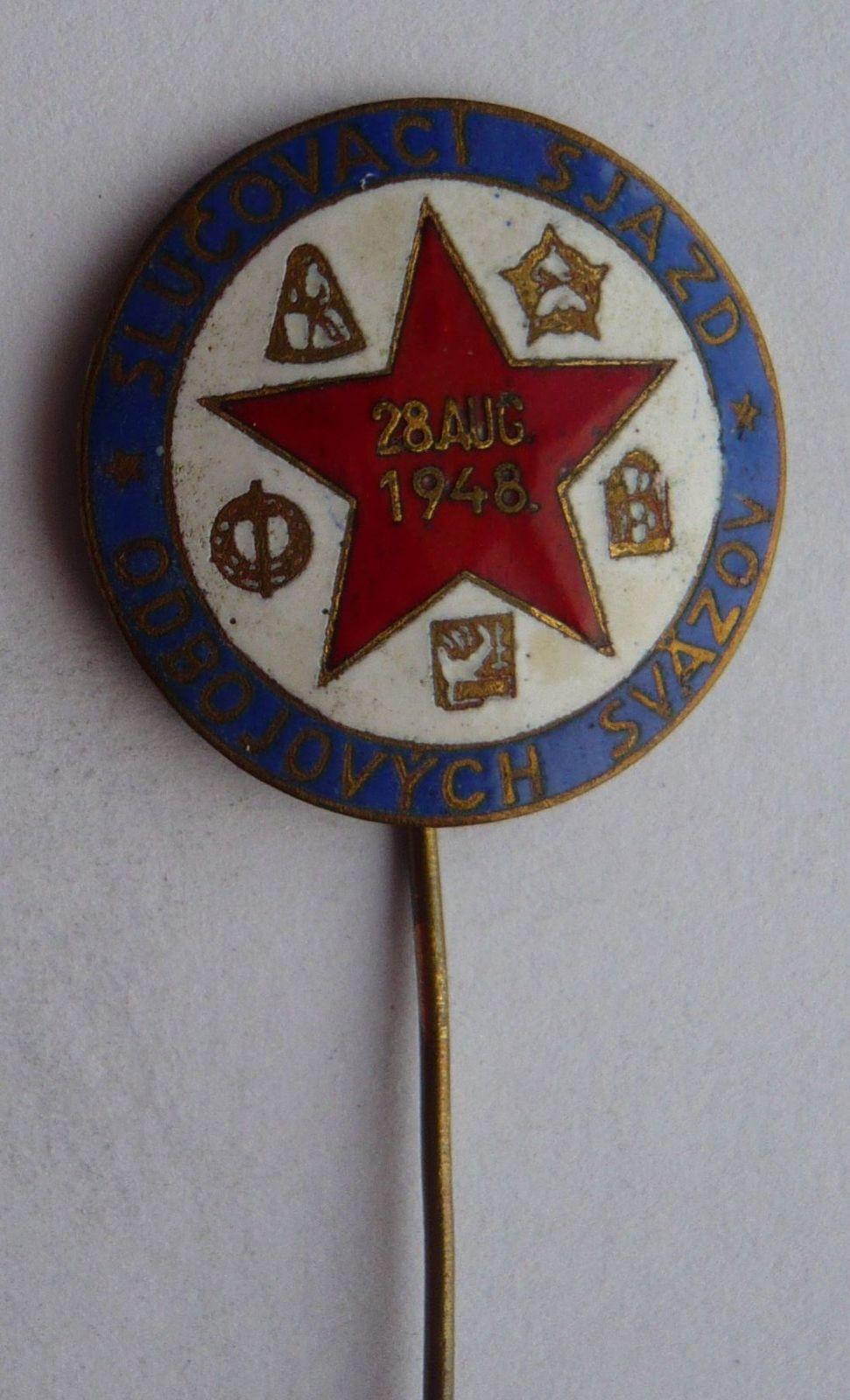 Slovensko sluč.sjezd odbojových svazů 1948