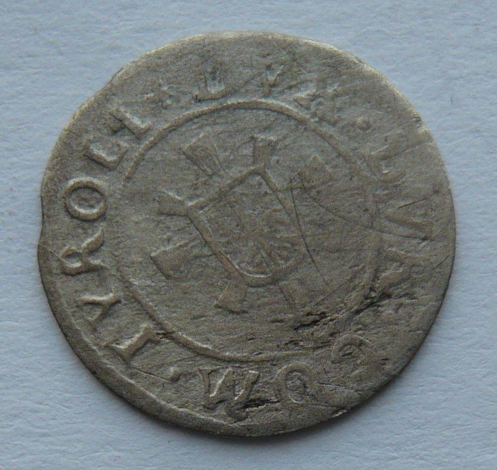 Tyroly 1 Krejcar 1565-95 arciv. Ferdin.