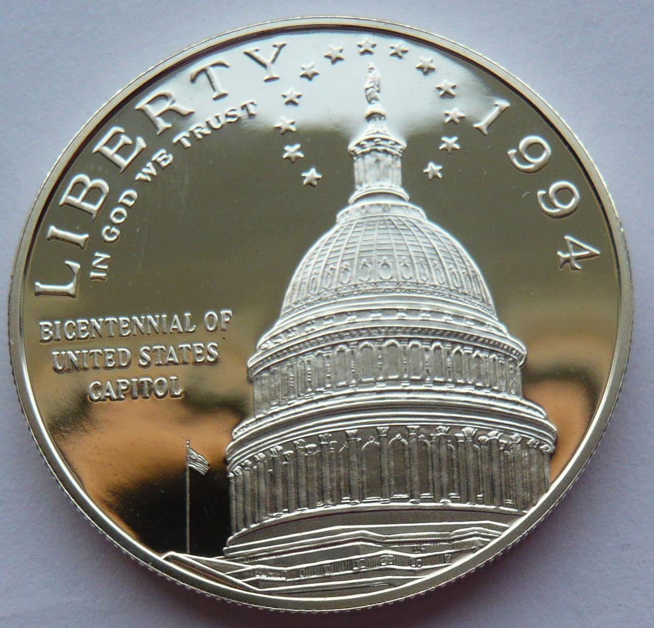 USA 1 Dol. kapitol 1994