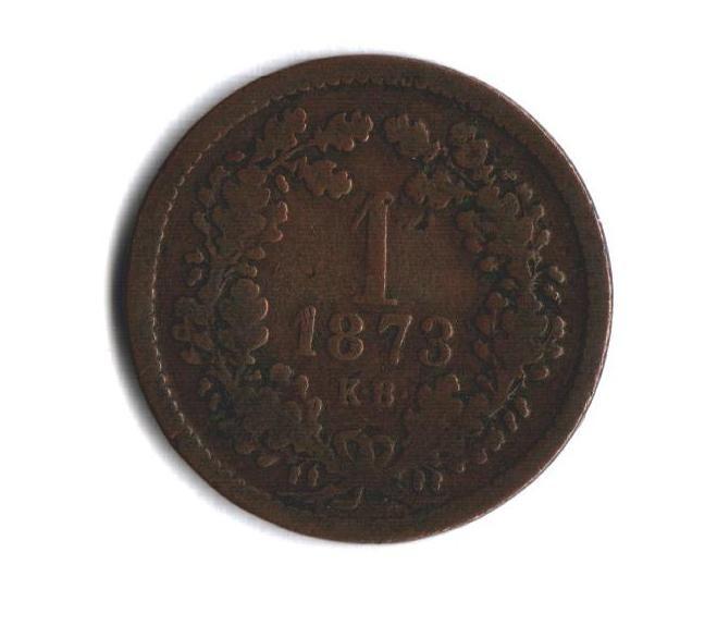 1 Krejcar(1873-ražba KB), stav viz. foto