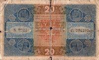 20Kč/1919/, stav 5, série P 234