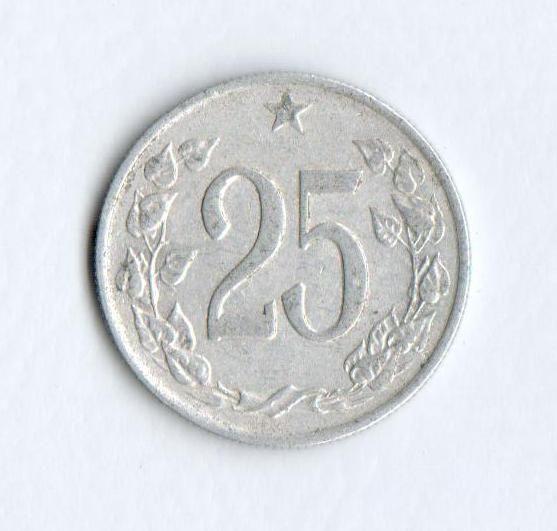 25 Haléř(1962), stav 1/1