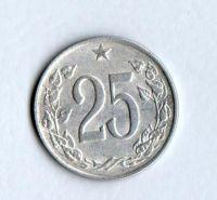 25 Haléř(1963), stav 1-/1-