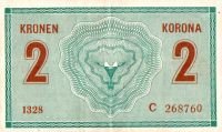 2K/1914/, stav 2+, série C 1328