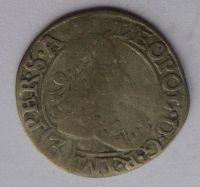 Čechy K. Hora 3 Krejcar CK 1689 Leopold I.