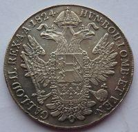 Čechy Tolar konvenční 1824 C František II.