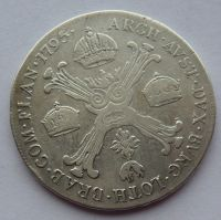 Rakousko 1/2 Tolar křížový 1795 A František II.