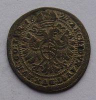 Rakousko 1 Krejcar 1697 Leopold I.